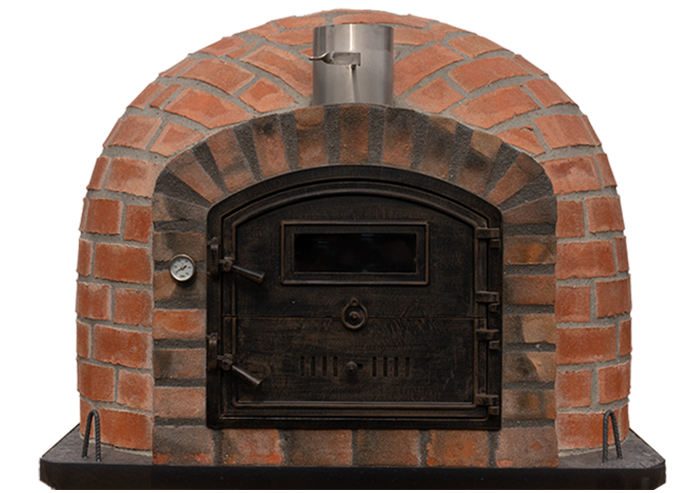 Brick Oven Door Closed