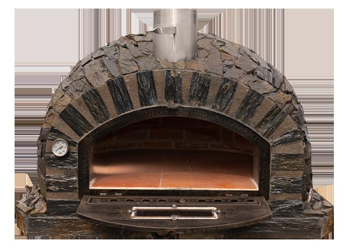 Stone Oven Door Open